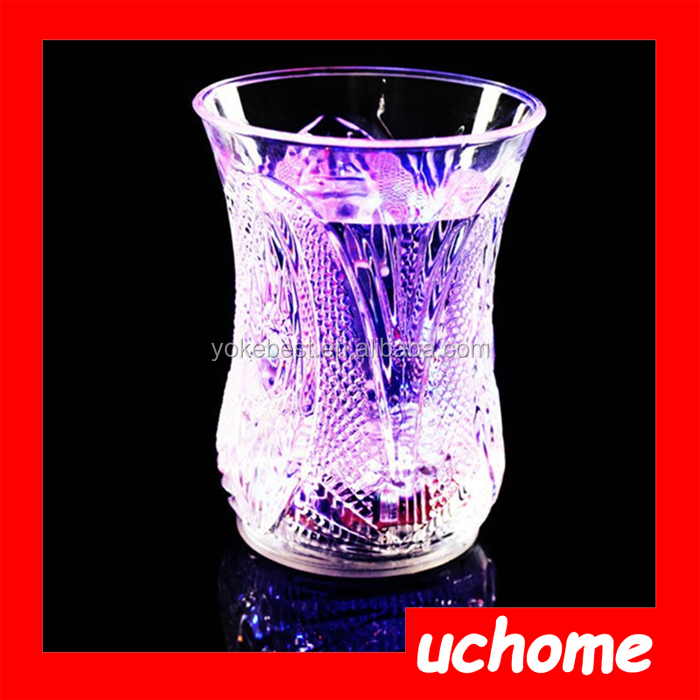 UCHOME Event & Party Supplies Plastic Water Sensor Colorful Induction Led Flash Cup