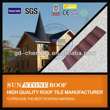 2013 Metal Roofing Tile Stone Coated / Popular Roof Tile