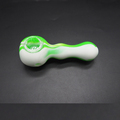 Food grade silicone rubber smoking pipe glass meth smoking pipe tabacco smoking pipe