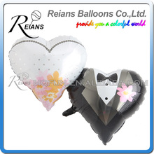 REIANS Customized huge size Double heart inflatable Diamond shaped propose balloons for Valentine's Day wedding (accept OEM ODM)