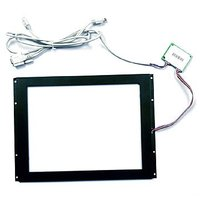Anti-glare Touch Screen for GPS Navigator with USB plug controller