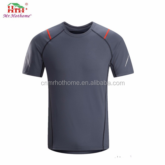 printed quick dry oem t shirts for gym