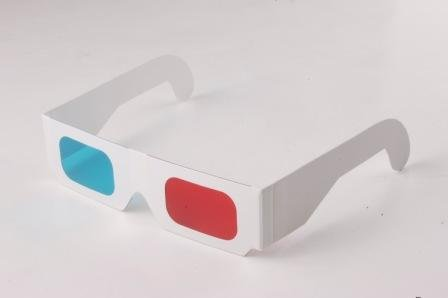 hot selling 3d red green glasses anaglyph 3d glasses