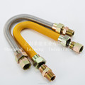 CSA YELLOW COATED GAS CONNECTOR flexible natural gas hose