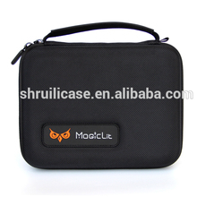 TOP Quality hard shell waterproof storage eva case, headphone eva carry case bag headset