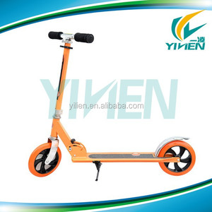 2 wheel kick scooter for sale, 200mm big wheel kick scooter , adult folding cheap kick scooter