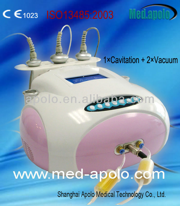 Cavitation &Vacuum lymph drainage body slimming machine- Med.apolo HS-560V+
