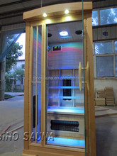 Russian Hot Box 2 Person Far Infrared Saunas for Home Use (ISO/CE/TUV/FSC/RoHS)