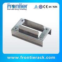 stainless steel solar panel grounding clips