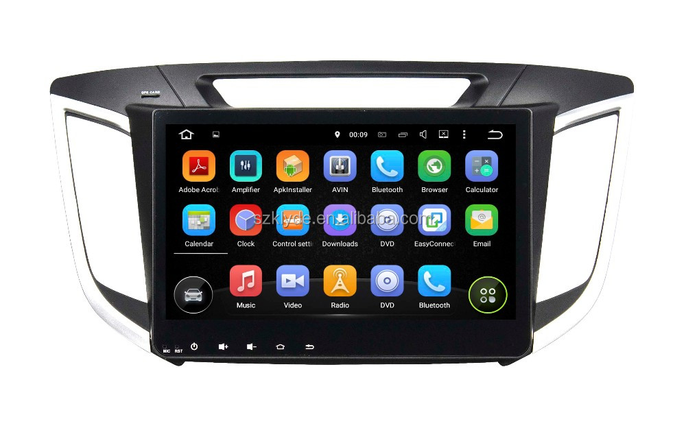 "Support original car rear camera and amplifier and USB android 5.1.1 car stereo system for 10.1"" IX25 2014-2015"