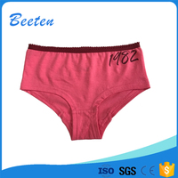 Best Selling Whlolesale Kid Cotton Material Children Young Girl Eco-Friendly Girl Underwear Panty Models