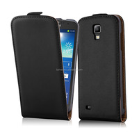 Premium Luxury Commercial Flip Genuine Leather Phone Case Cover For Samsung Galaxy S4 Active I9295