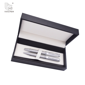 factory direct custom logo advertising promotional gifts metal pen set with gift box
