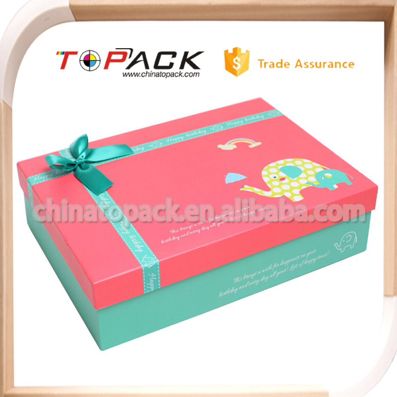 cardboard folding paper box with logo print