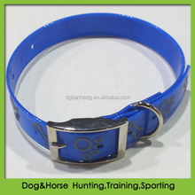 pvc dog collar with roller buckles
