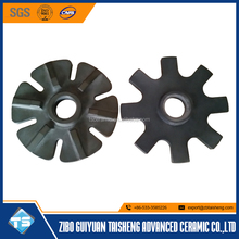 silicon nitride rotor for degassing system in aluminum casting