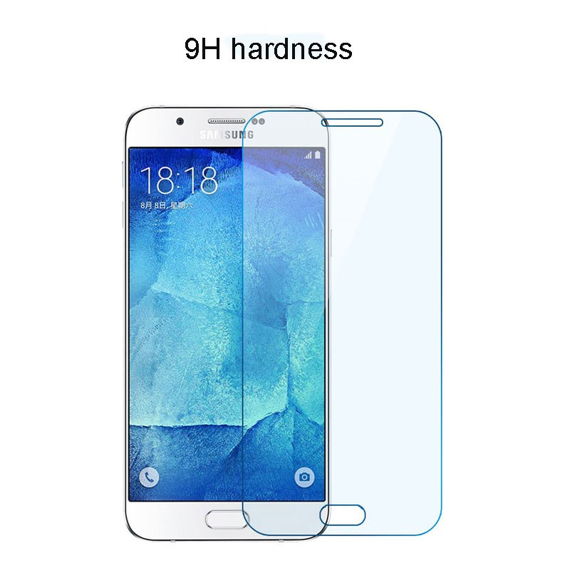 latest china mobile phone, tempered glass for Samsung galaxy A8
