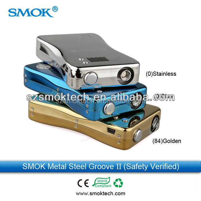Super vapor smok groove II ecig mod box made in china smoktech online selling 3800mah vv/vw mod