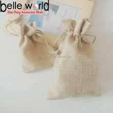 Wedding Party Gift Burlap Favor Bags