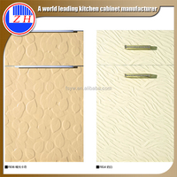 2015 mdf laminate new pvc embossed cabinet door mini kitchen cabinet apartment (zhuv)
