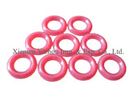 Colorful custom design round silicone gasket