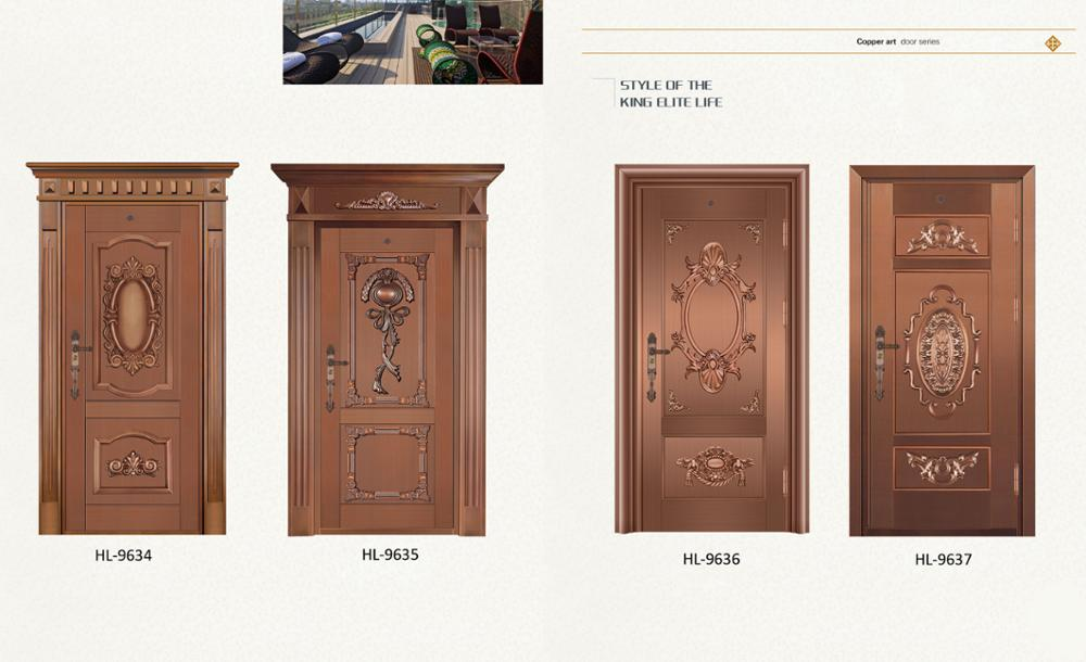 European style bronze art door DTS-9903
