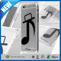C&T 2015 Innovative transparent slim plastic hard case for iphone 6 plus