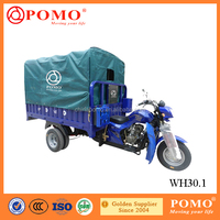 South America Popular Strong Box Heavy Load 300CC Water Cooled Cargo Four Wheel Motorcycle For Sale