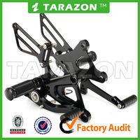 Tarazon brand in stock aluminum alloy motorcycle CNC rear sets for HONDA CBR 250