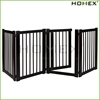 Wooden furniture pet safety gate /indoor dog gates Homex-BSCI