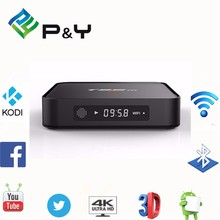 Amlogic S905 Quad Core 2GB RAM 8GB ROM KODI 16.0 2.4G WIFI Bluetooth T95M Smart TV Box with the best price from P&Y