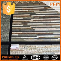 For interior floor use chinese cheap natural rust color slate tile