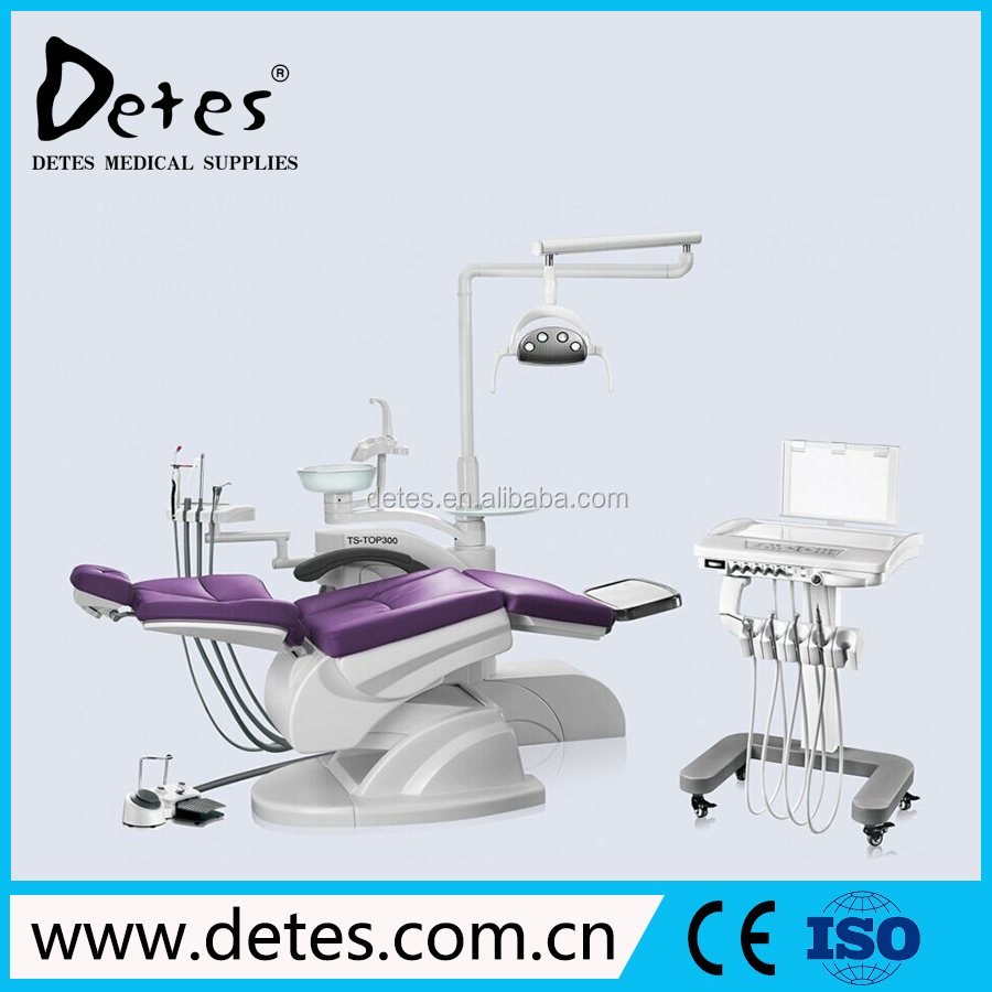 Left-Handed Dental Chair Unit Equipment Supplies TOP300 CART WIth Good quality and Low price