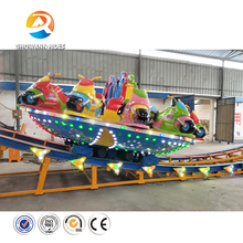Hot New design amusement park rides Space themed cool Flying disco rides New carnival rides for sale
