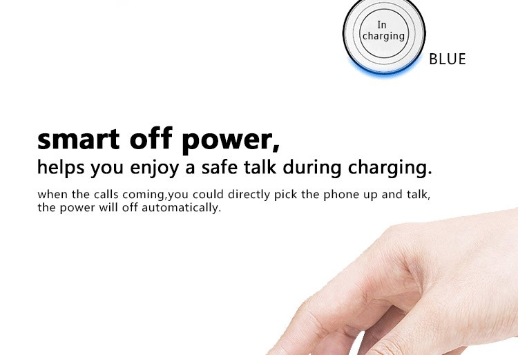 OSCOO Magnetic Induction Wireless Charger For Mobile Phone