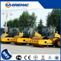 16 ton XCMG Mechanical Single Drum Vibratory Road Roller Price compactor machine XS162J