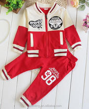 New arrival kids clothing sets fashion baby halloween sports outfits