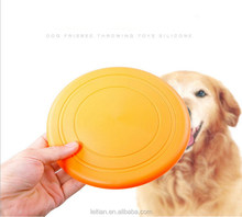 Cheap Customized Soft BPA Bite Resistant Colorful outdoor Silicone Frisbee Harmless Flying Saucer Disc For Pet Dog Training.