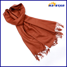 HZW-13409003 Good Quality women Customed single color thin neck cooler scarf