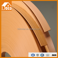 pvc edge banding for mdf/metal table edge banding/mdf edge banding tape