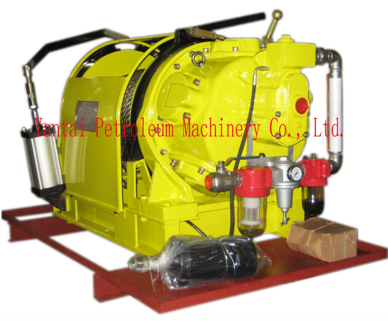 10T Air Winch (Air Cylinder Brake type) used for minning