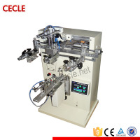 T&D manual cylinder screen printing machine