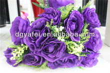 Wedding decorative flowers,walmart wedding flowers,artificial flowers