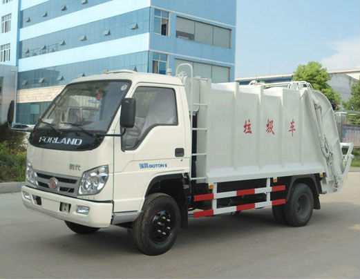 3 ton Compactor Garbage Truck FOTON Forland Mini Waste Truck
