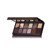 Mineral best cosmetic eyeshadow palettes private label eyeshadow warm tone colors paper case women make up eyeshadow
