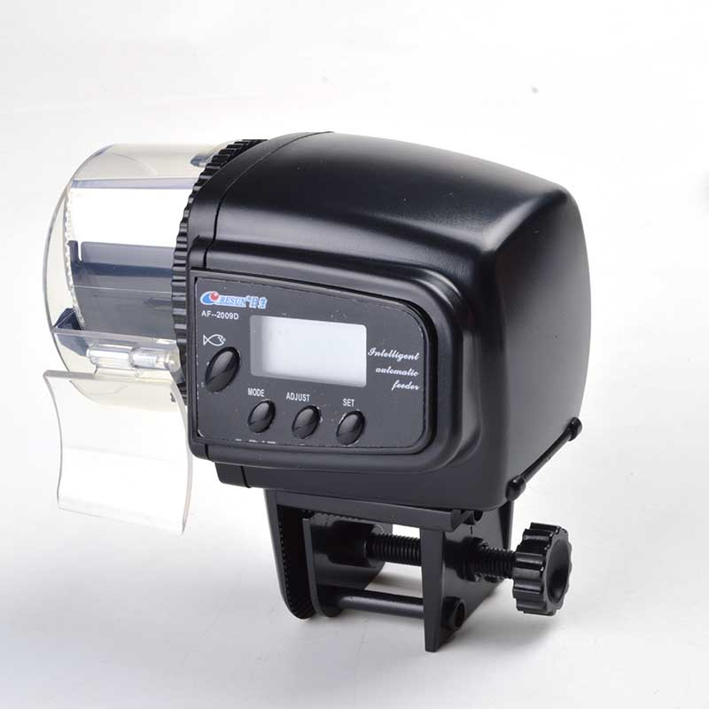 AF-2009d Digital LCD Automatic Aquarium Tank <strong>Fish</strong> Feeder Food Timer with Retail Package LCD Adjustable Electric <strong>Fish</strong> Feeder