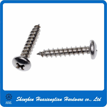 China custom iron steel m10 philips socket pan head self tapping screw