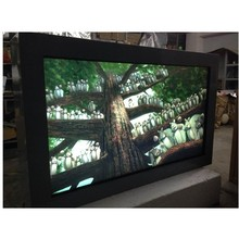 42inch TFT Type and outdoor Application wall mounted lcd ad display touch screen with android wifi 3G network