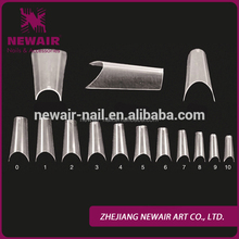 Hot sale full cover artificial nails acrylic design nails tip wholesale