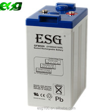 Deep cycle battery 2V 500AH AGM gel battery , Solar lead acid battery for PV system